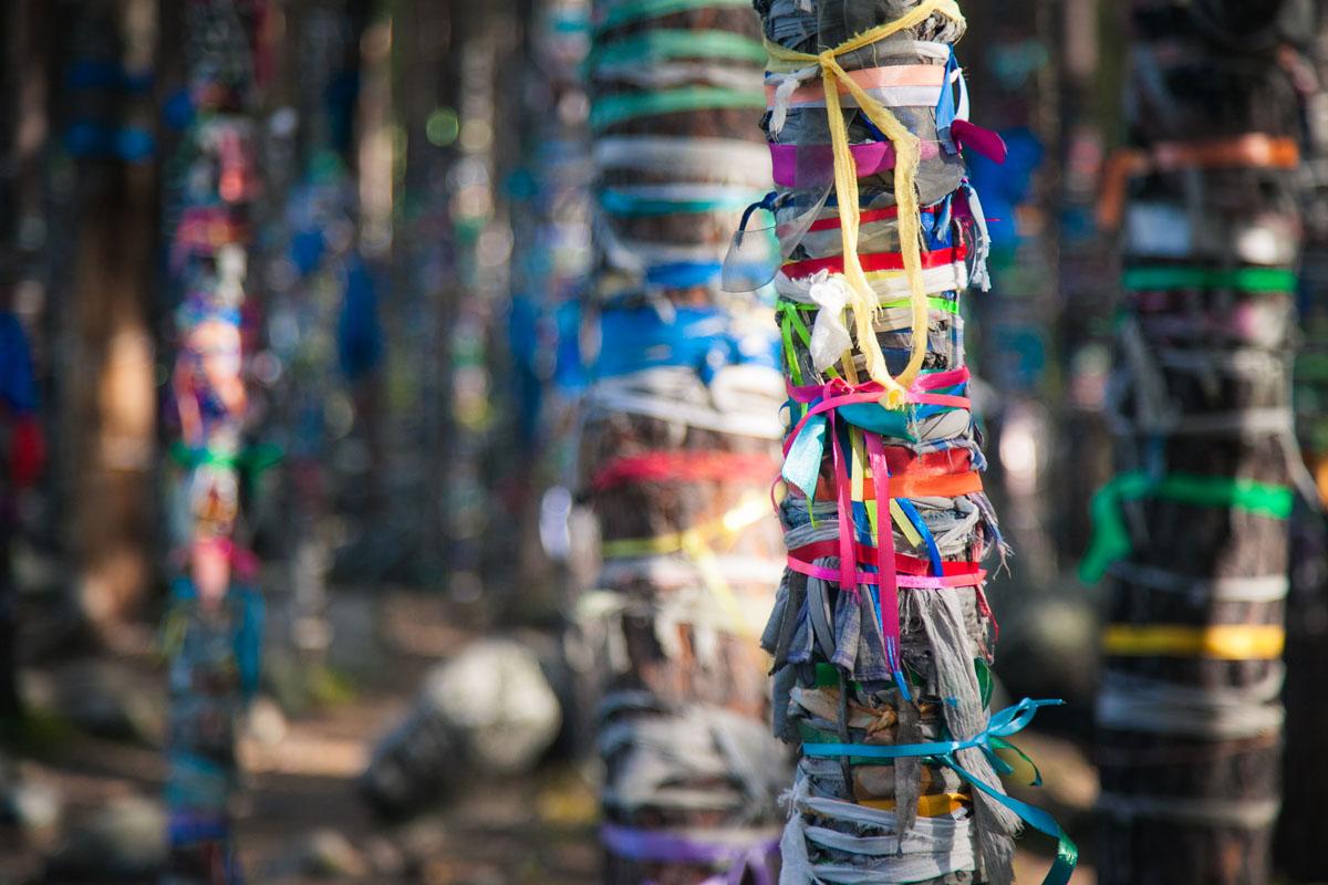 Священные места шаманистов
