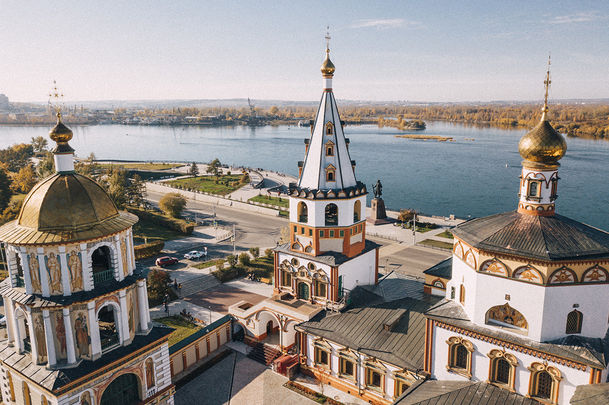 Золотая осень на Байкале