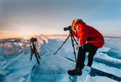 Жаркий. Чистый. Твой. 2021. Фототур на льду Байкала