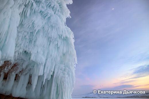Космолёд. Фототур на льду Байкала