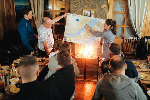 Перволёд на Байкале