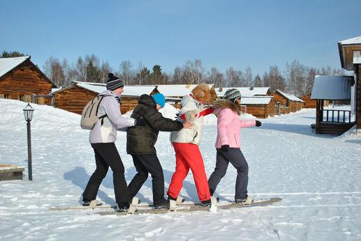 Рождественские каникулы на Байкале