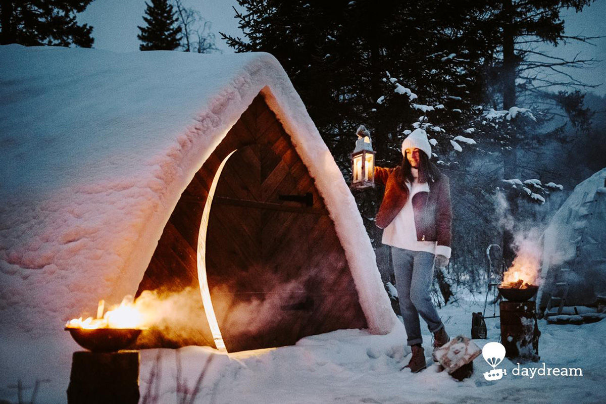 Снежный отель
