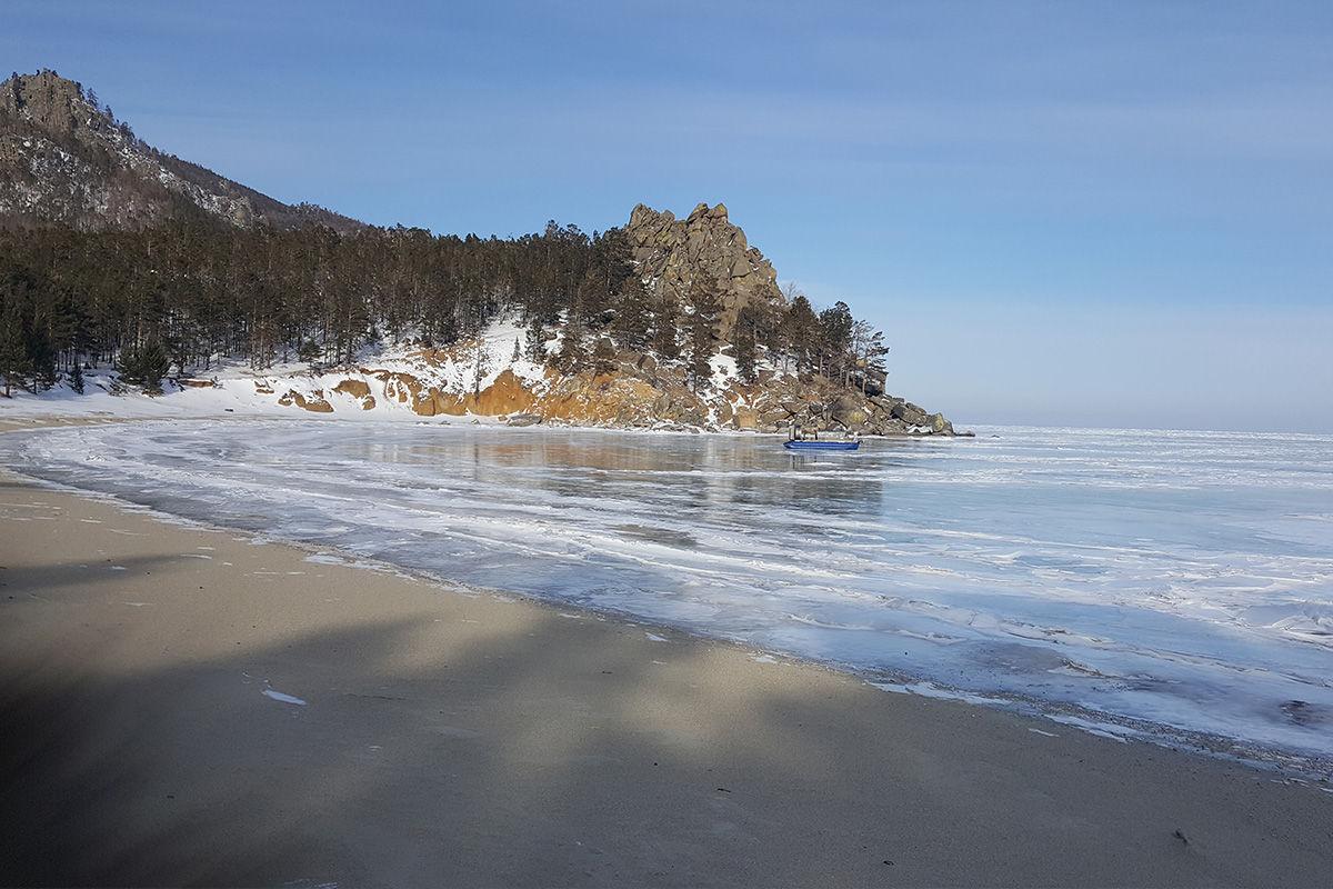 Хивус в бухту Песчаная